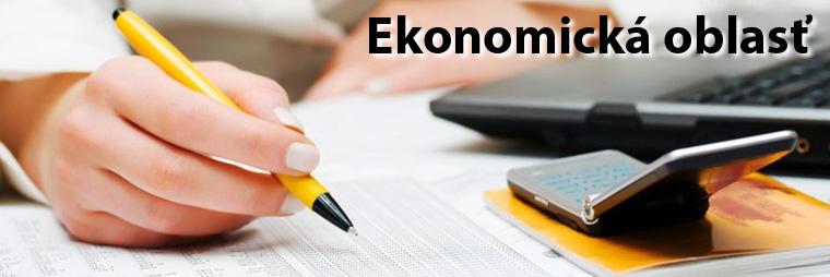 Ekonomická oblasť