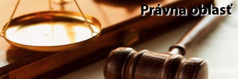 Právna oblasť